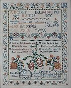 Queenstown Sampler Designs - Ruth Passmore 1804