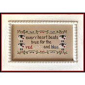 Country Cottage Needleworks - Every Heart