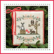 Country Cottage Needleworks - Welcome To The Forest  - Forest Raccoon And Friends Part 3 THUMBNAIL