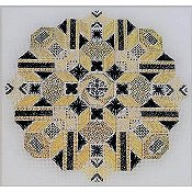 Freda's Fancy Stitching - Gold 'N Ebony