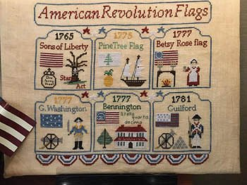 Mani Di Donna - American Revolution Flags MAIN