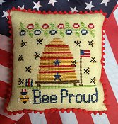 Needle Bling Designs - Bee Proud THUMBNAIL