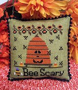 Needle Bling Designs - Bee Scary
