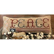 Homespun Elegance - Country Spirits Collection - Patriotic Peace THUMBNAIL