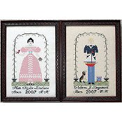 Queenstown Sampler Designs - William & Kate