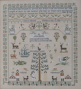 Queenstown Sampler Designs - Mary Johnson 1806 MAIN