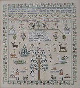 Queenstown Sampler Designs - Mary Johnson 1806