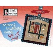 Heart In Hand Needleart - Merry Making Mini - 4th Of July_THUMBNAIL