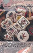 Heartstring Samplery - Festive Little Fobs - Americana Edition