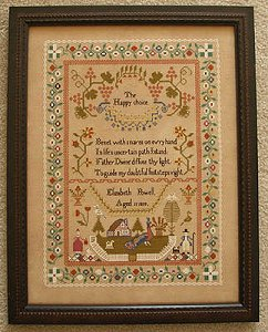 Queenstown Sampler Designs - Elizabeth Powell 1819 MAIN