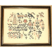 Queenstown Sampler Designs - Mexican Sampler c1850