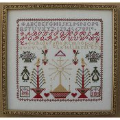 Queenstown Sampler Designs - R. Le Tellier 1873