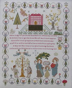Queenstown Sampler Designs - Ann Till Sampler 1795