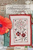 Jeannette Douglas Designs - Letters From Mom - Monthly Letter November