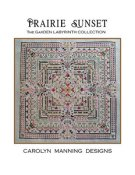 Carolyn Manning Designs - The Garden Labyrinth - Prairie Sunset