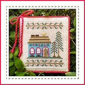 Country Cottage Needleworks - Welcome To The Forest - Blue Forest Cottage Part 4 THUMBNAIL