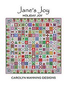Carolyn Manning Designs - Jane's Joy - Holiday Joy