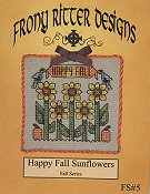 Frony Ritter Designs - Happy Fall Sunflowers THUMBNAIL