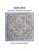 Carolyn Manning Designs - The Garden Labyrinth Collection - Chicory THUMBNAIL