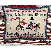 Needle Bling Designs - Bicycle Built For 2