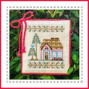 Country Cottage Needleworks - Welcome To The Forest - Pink Forest Cottage Part 5 THUMBNAIL