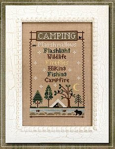 Country Cottage Needleworks - Camping Trip MAIN