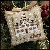 Little House Needleworks - Farmhouse Christmas 7 - Cock-A-Doodle-Do_THUMBNAIL
