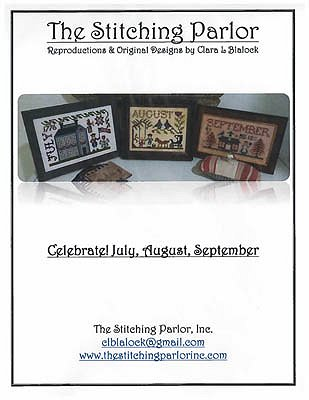 The Stitching Parlor - Celebrate!  July, August, September MAIN
