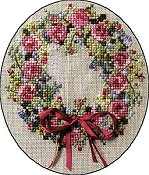 Cross-Point Designs - Summer Splendor Wreath