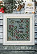 Cottage Garden Samplings - Songbird's Garden 2 - Merry & Bright