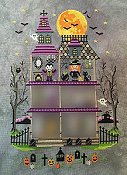 Tiny Modernist - The Haunted Mansion Mystery Series - Part 3 Room Two - Miss Witch THUMBNAIL