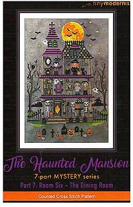 Tiny Modernist - The Haunted Mansion Mystery Series - Part 7 Room Six - The Dining Room
