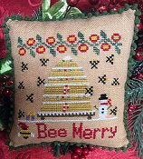 Needle Bling Designs - Bee Merry THUMBNAIL