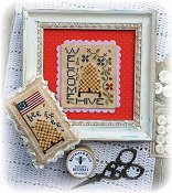 Annie Beez Folk Art - Welcome To The Hive THUMBNAIL