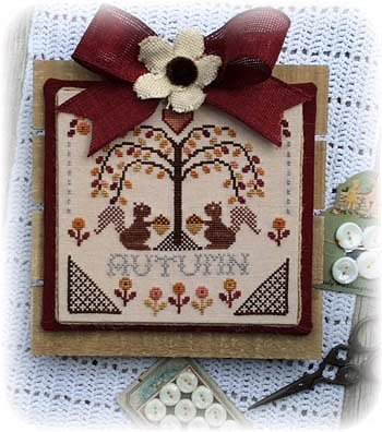 Annie Beez Folk Art - Sheltering Tree - Autumn MAIN