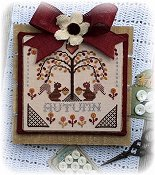Annie Beez Folk Art - Sheltering Tree - Autumn THUMBNAIL