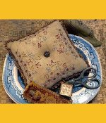 Homespun Elegance - Purely Samplers - Alphabet Pillow