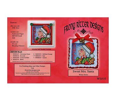 Frony Ritter Designs - Sweet Mrs. Santa MAIN
