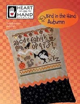Heart In Hand Needleart - Bird in the Hand - Autumn_MAIN