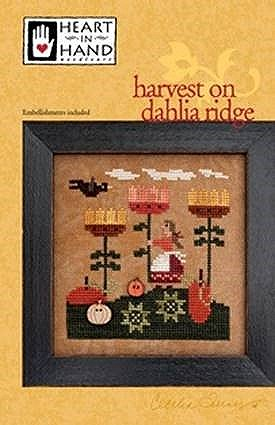 Heart In Hand Needleart - Harvest On Dahlia Ridge MAIN