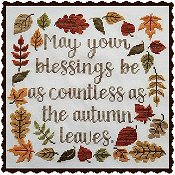 Waxing Moon Designs - Autumn Blessing