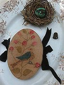 Stacy Nash Primitives - Feathered Nest Pin Book THUMBNAIL