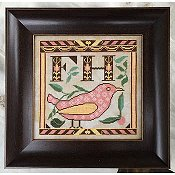 Kathy Barrick - Early Fraktur Drawing THUMBNAIL