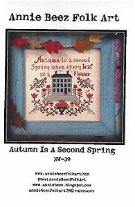 Annie Beez Folk Art - Autumn Is A Second Spring MAIN