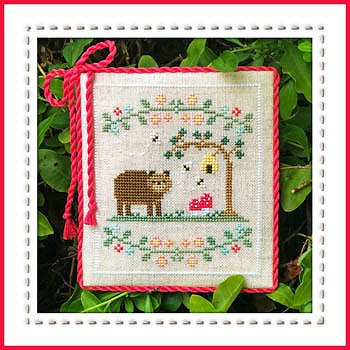 Country Cottage Needleworks - Welcome To The Forest - Forest Bear Part 7 MAIN