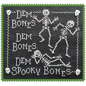Waxing Moon Designs - Dem Bones!
