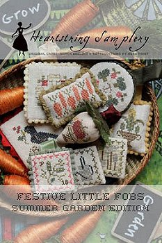 Heartstring Samplery - Festive Little Fobs - Summer Garden Edition MAIN