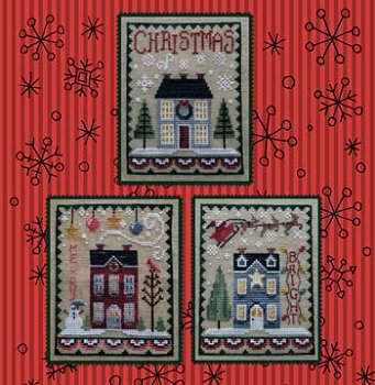 Waxing Moon Designs - Christmas House Trio MAIN
