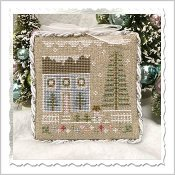 Country Cottage Needleworks - Glitter Village - Glitter House 1 THUMBNAIL