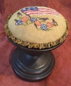 Dames of the Needle - Americana Birds and Flowers Pin Cushion THUMBNAIL